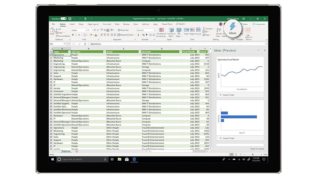 Microsoft 365 Excel ANL IT
