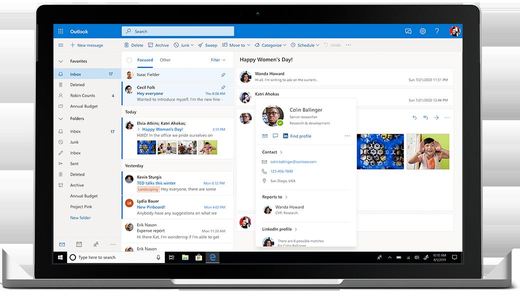 Microsoft 365 Outlook ANL IT