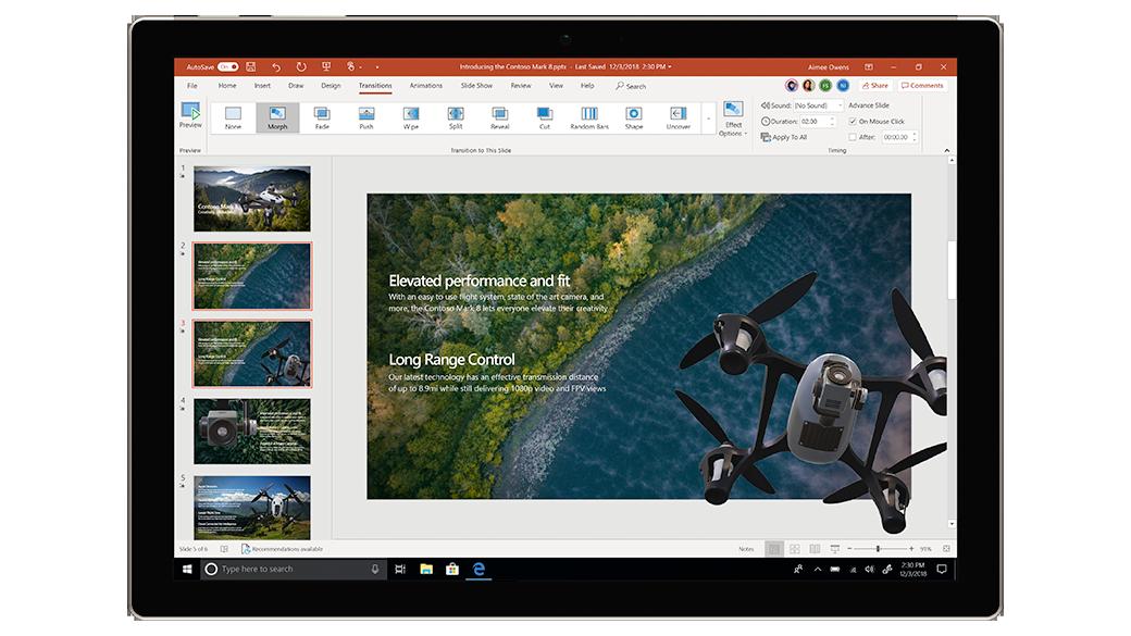 Microsoft 365 Powerpoint ANL IT