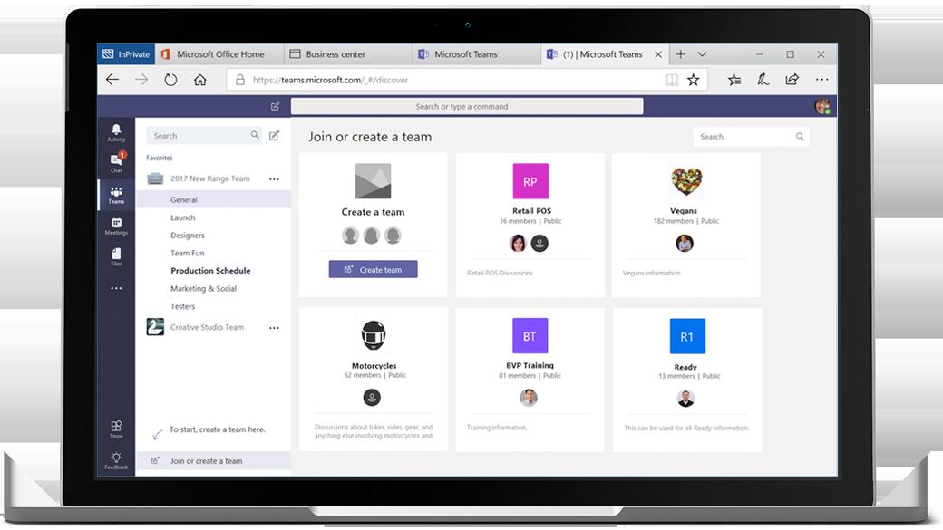 Werk samen Microsoft 365 Teams ANL IT
