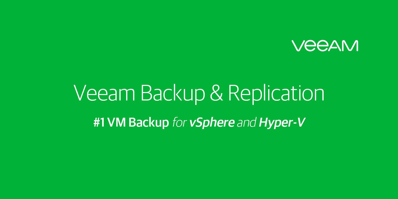 Veeam service backup ANL IT