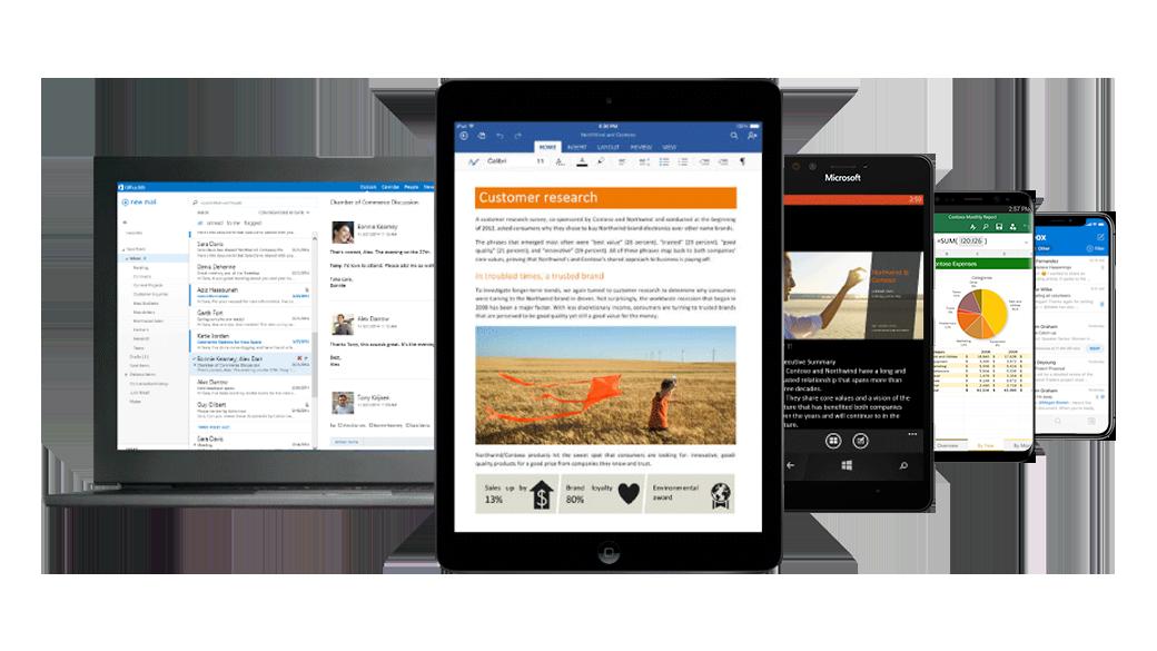 Microsoft 365 Software op 5 pc's ANL IT